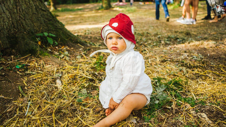 Mushroom Baby Shambala Festival 2017 © Louise Roberts